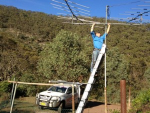 We carry out aerial repairs